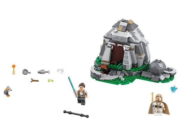 Lego Ahch-To Island Training-0