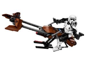 Lego Scout Trooper & Speeder Bike-0