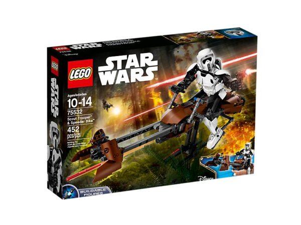 Lego Scout Trooper & Speeder Bike-3199