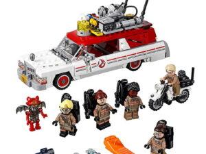 Lego Ghostbusters Ecto-1 & 2-0