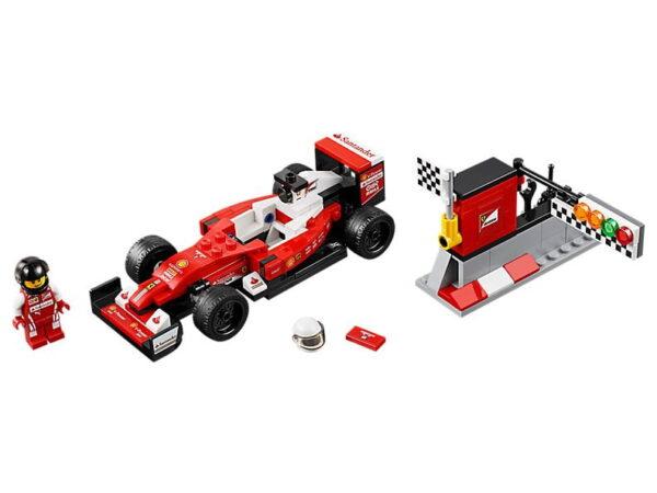Lego Scuderia Ferrari SF16-H-0