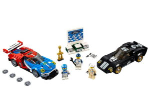 Lego 2016 Ford GT & 1966 Ford GT40-0