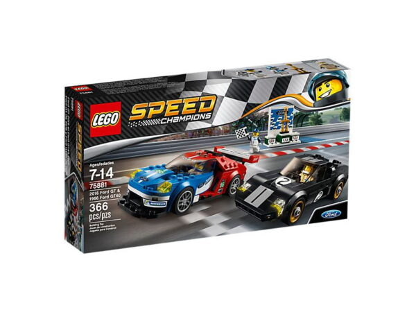 Lego 2016 Ford GT & 1966 Ford GT40-3248