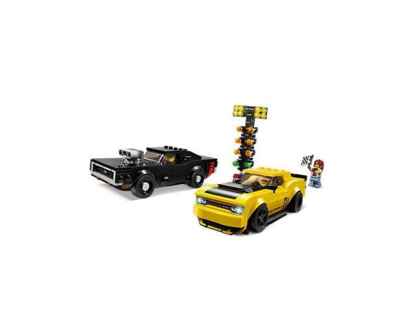 Lego 2018 Dodge Challenger SRT Demon and 1970 Dodge Charger R/T-3269