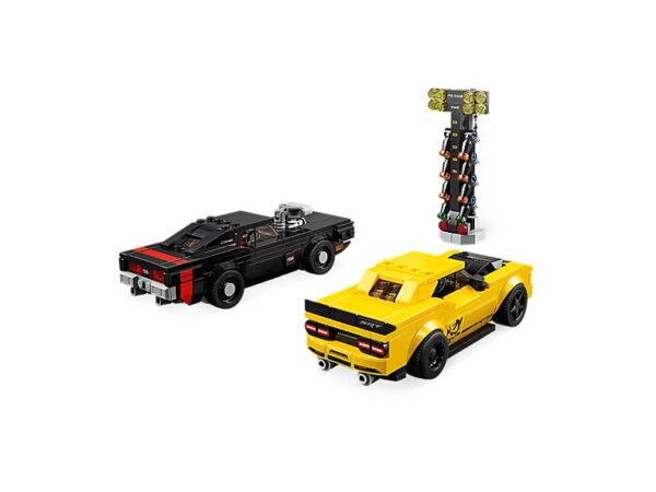 Lego 2018 Dodge Challenger SRT Demon and 1970 Dodge Charger R/T-3270