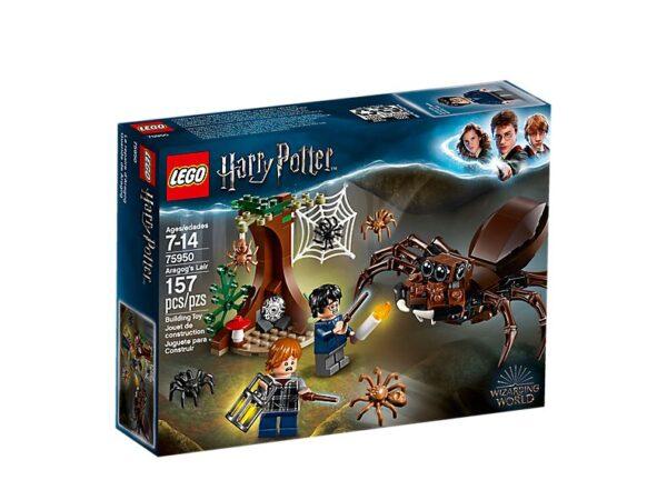 Lego Aragog's Lair-3273