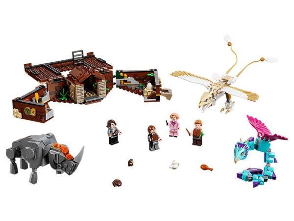 Lego Newt´s Case of Magical Creatures-0