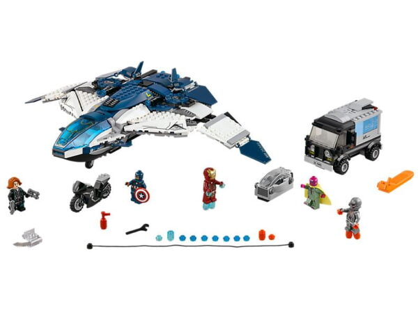 Lego The Avengers Quinjet City Chase-0