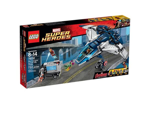 Lego The Avengers Quinjet City Chase-3321
