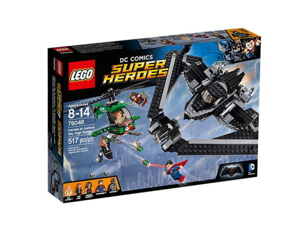 Lego Heroes of Justice Sky High-3323