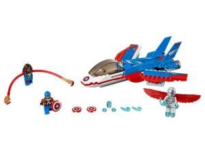 Lego Captain America Jet Pursuit-0
