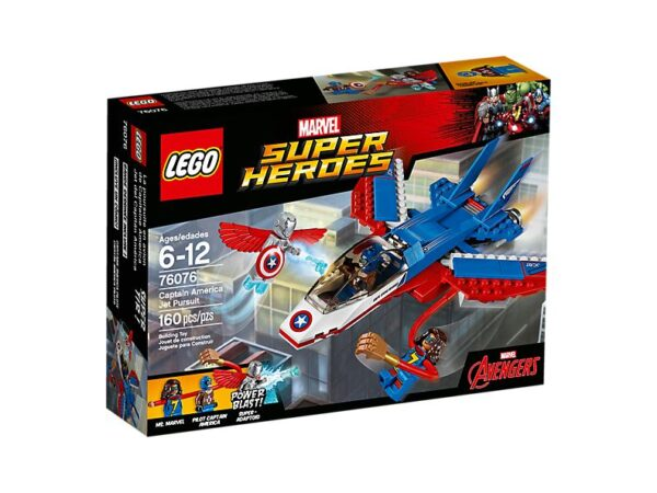 Lego Captain America Jet Pursuit-3358