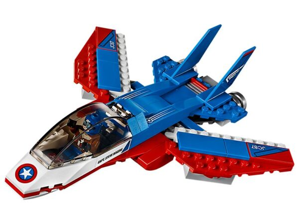Lego Captain America Jet Pursuit-3359