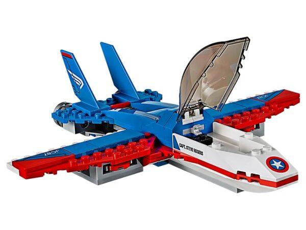 Lego Captain America Jet Pursuit-3360