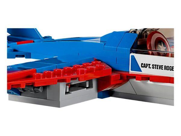Lego Captain America Jet Pursuit-3361