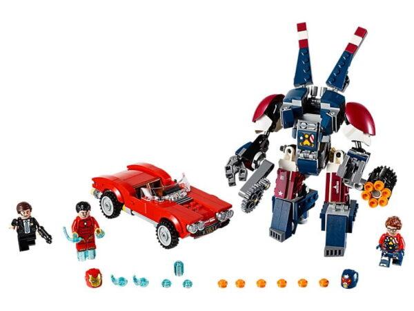 Lego Iron Man Detroit Steel Strikes-0
