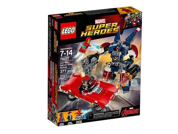Lego Iron Man Detroit Steel Strikes-3363