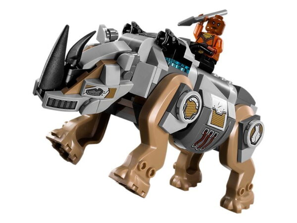 Lego Rhino Face-Off by the Mine-3423