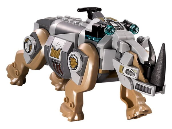 Lego Rhino Face-Off by the Mine-0