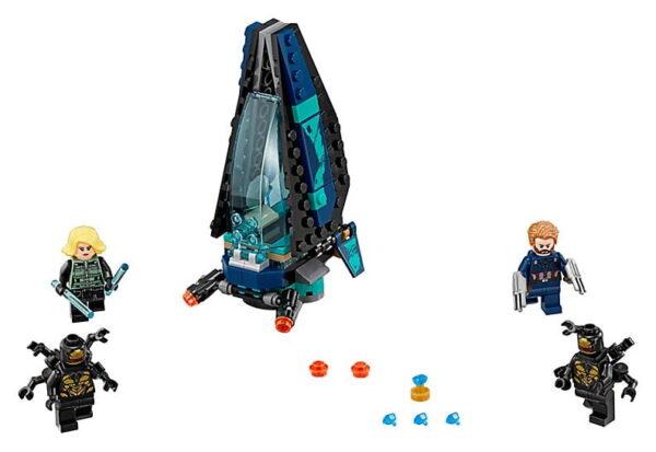 Lego Outrider Dropship Attack-3431