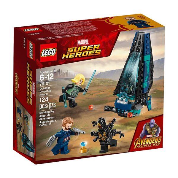 Lego Outrider Dropship Attack-3430
