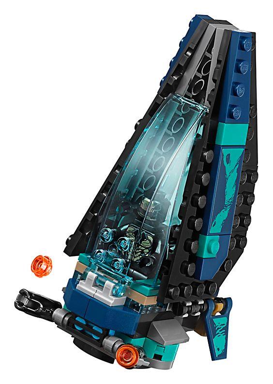 Lego Outrider Dropship Attack-3429