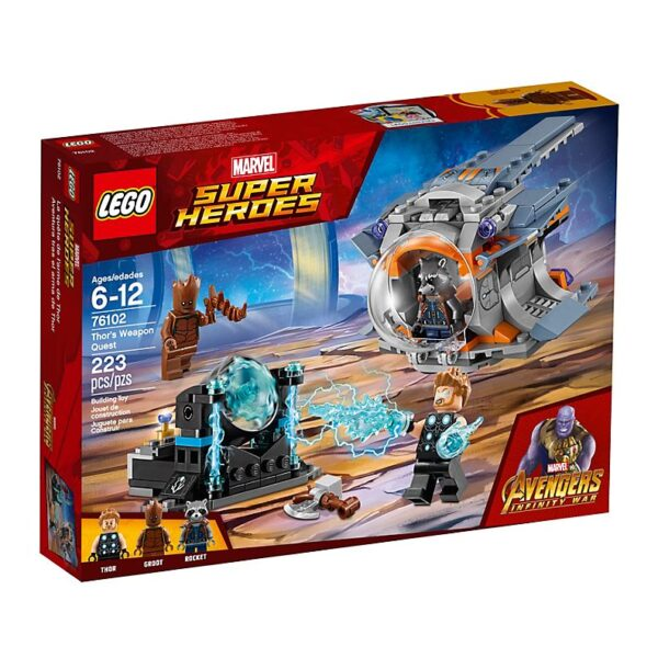 Lego Thor's Weapon Quest-3435