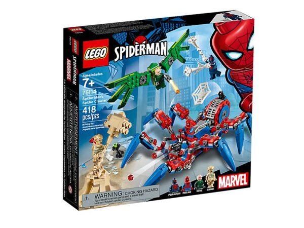 Lego Spider-Man's Spider Crawler-3445