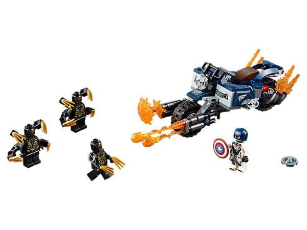 Lego Captain America: Outriders Attack-3456