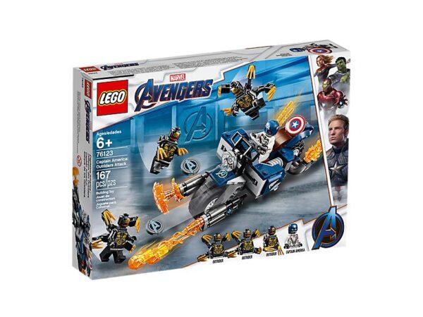 Lego Captain America: Outriders Attack-3455