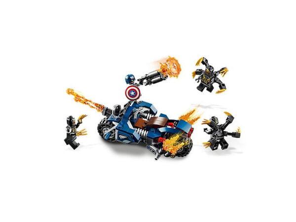 Lego Captain America: Outriders Attack-3453