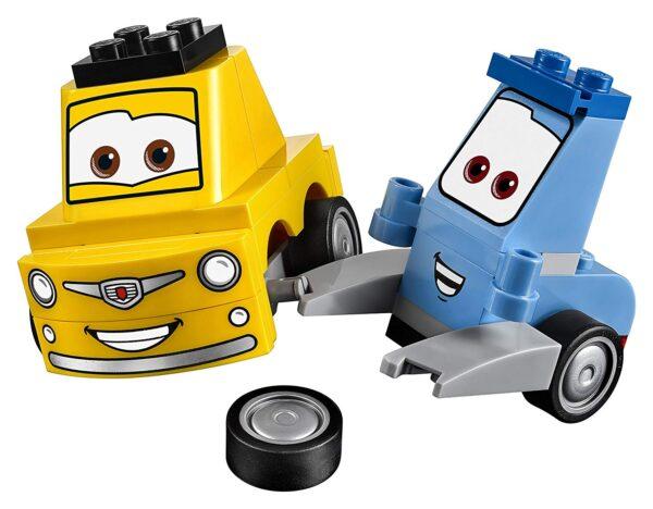 Lego Guido & Luigi's Pit Stop