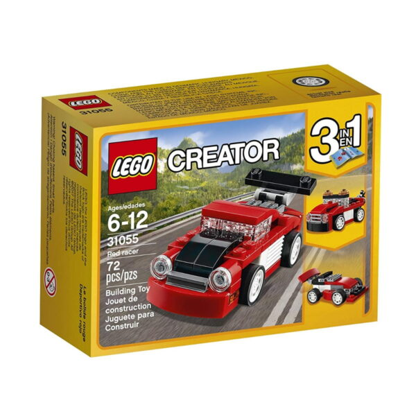 Lego Red Racer-0