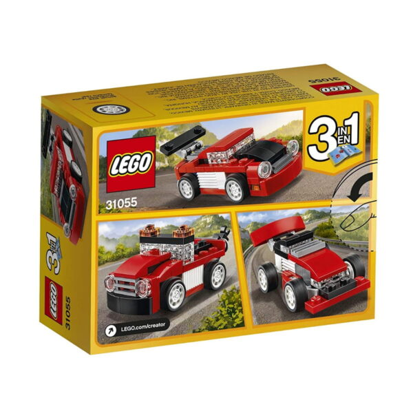 Lego Red Racer-1793