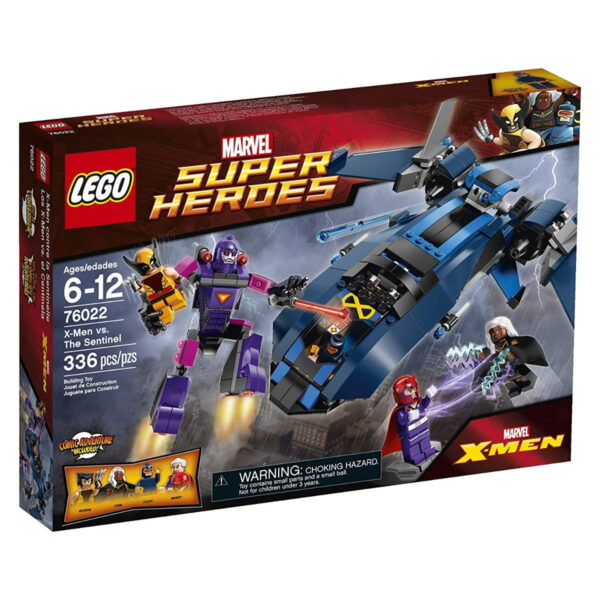 Lego X-Men Vs The Sentinel-0