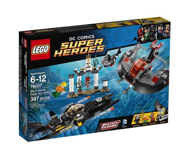 LEGO Black Manta Deep Sea Strike-0