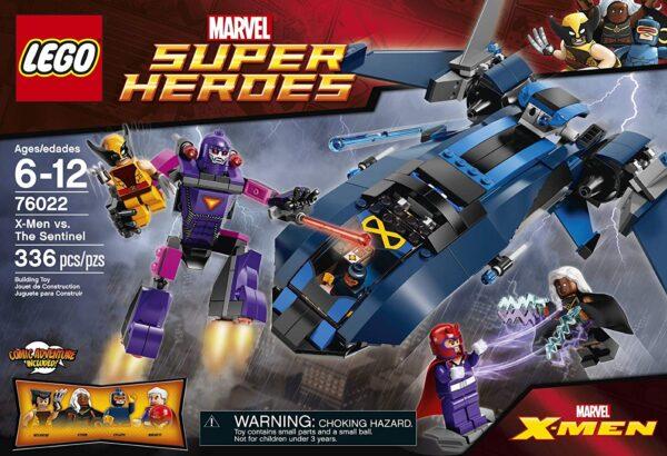 Lego X-Men Vs The Sentinel-3298