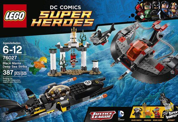 LEGO Black Manta Deep Sea Strike-3313