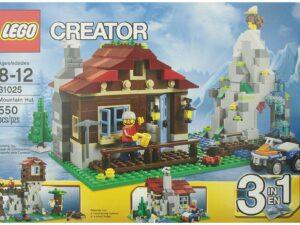 Lego Mountain Hut-0