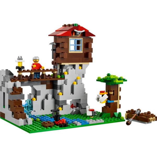 Lego Mountain Hut-1781