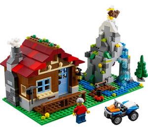 Lego Mountain Hut-1780
