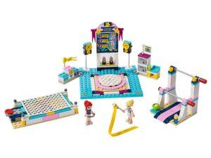 Lego Stephanie's Gymnastics Show-0