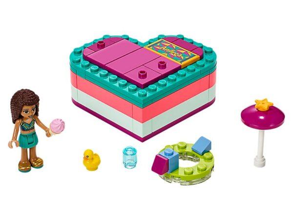 Lego Andrea's Summer Heart Box