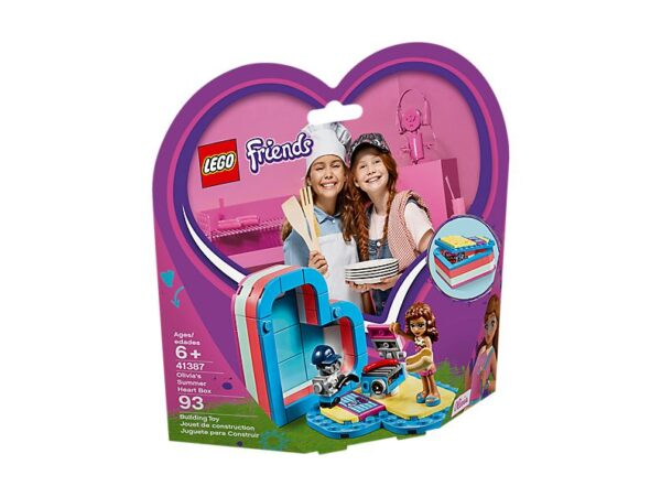 Lego Olivia's Summer Heart Box-3546