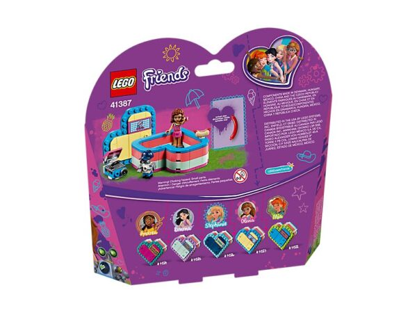 Lego Olivia's Summer Heart Box-3547