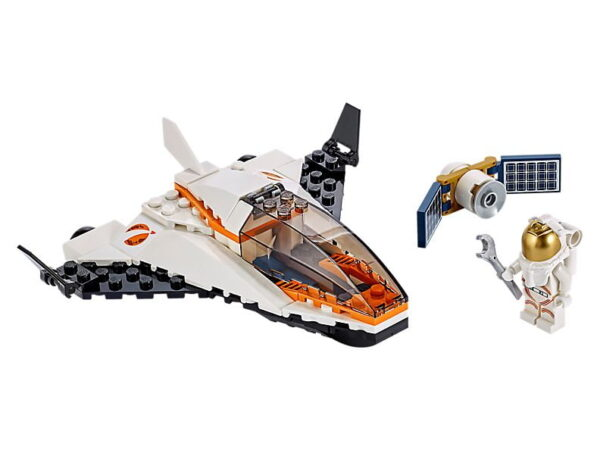 Lego City Satellite Service Mission-0
