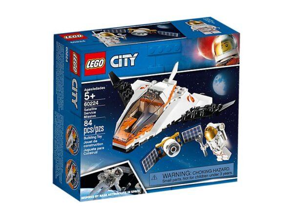 Lego City Satellite Service Mission-3555
