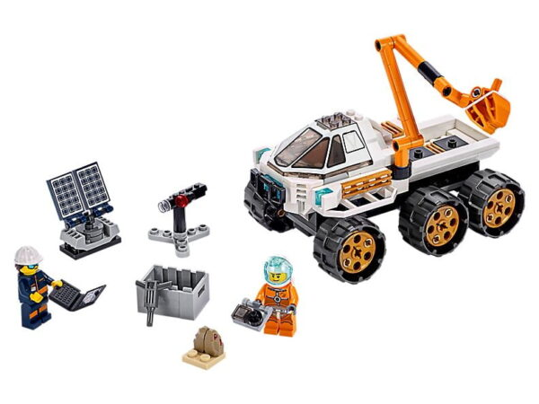 Lego Rover Testing Drive-0
