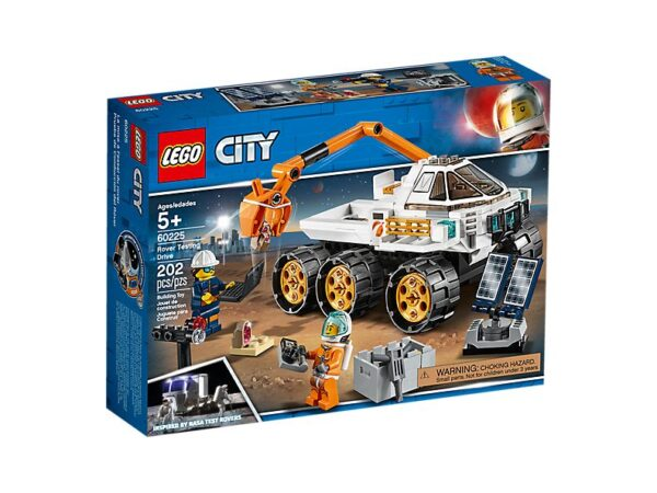 Lego Rover Testing Drive-3552