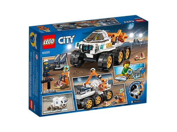 Lego Rover Testing Drive-3553